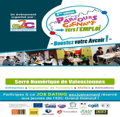 E2C Grand Hainaut – «Parcours gagnant vers l'emploi: Boostez votre avenir»